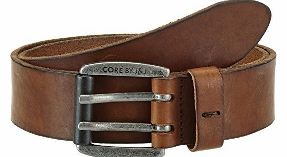 Mens Belt - Brown - Braun (Cognac / Rivet) - 75 cm