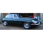 Jaguar E Type S1 Coupe Green