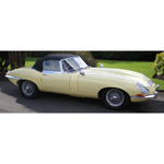 Jaguar E Type S2 Cabriolet Cream