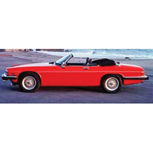 jaguar XJS Cabriolet 1980 Red