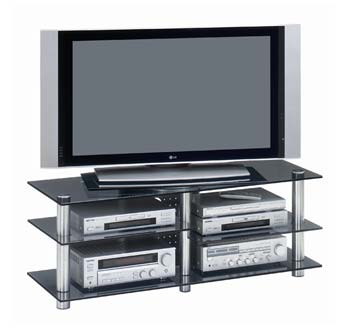Studio 33 Glass LCD TV Stand - WHILE STOCKS LAST!
