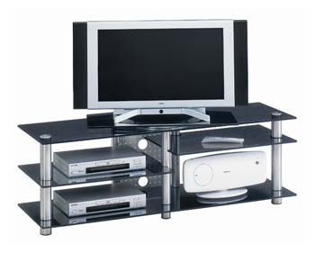 Studio 35 Glass LCD TV Stand - WHILE STOCKS LAST!