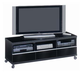 Studio Look 316 Extra Wide Black LCD TV Unit
