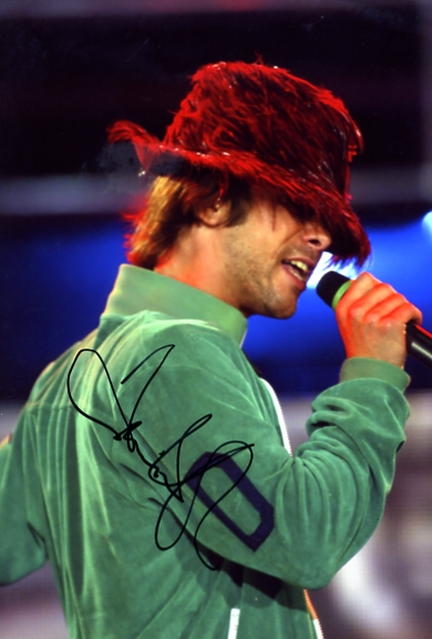 - JAY KAY SIGNED 12 x 8 INCH COLOUR