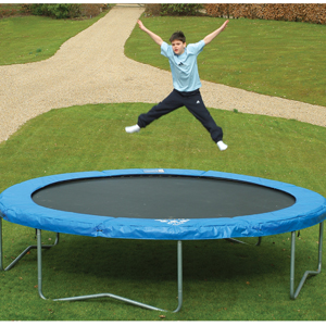 Jaques Jumpstar Flyer 12ft Trampoline Outdoor Game
