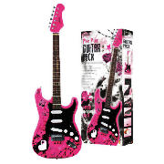 Classic Stlye Electric Guitar in Pink