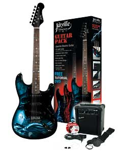 Jaxville Electric Guitar Hades Pack