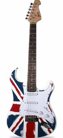 ST1-GB ST Style Electric Guitar - Union Jack