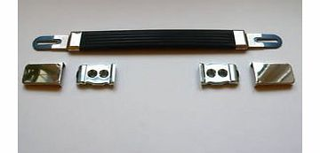 Jellyfish Audio Silver Guitar Amplifier Strap / Handle for Marshall Plexi and other amp cabinets