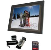 15`` LCD Photo Frame   Klearpix Bundle