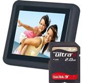 3.5`` LCD Photo Frame with 2GB Card