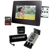 7`` LCD Photo Frame   Klearpix Bundle