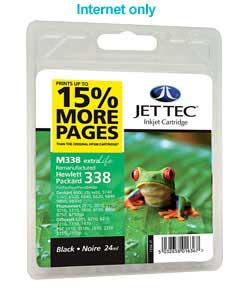 Tec HP338 Remanufactured Black Cartridge