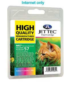 Tec HP57 Remanufactured Colour Cartridge