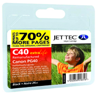 Canon PG-40 Black Compatible Ink Cartridge by