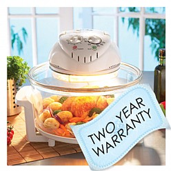 JML Halogen Oven 2 year warranty
