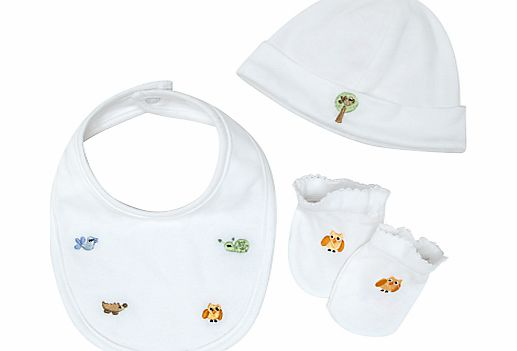 John Lewis Baby Embroidered Animal Accessories