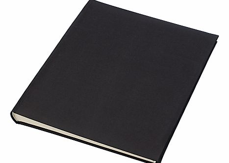 Linen Photo Album, Black