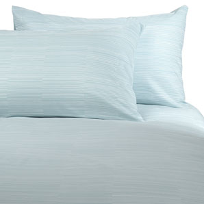 Lines Duvet Cover- Ice- Double