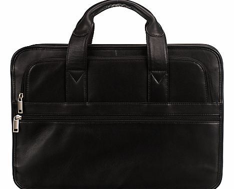 New Detroit Leather Laptop Briefcase,