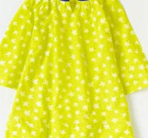 Johnnie  b Printed Beach Cover Up, Bright Yellow Star Stamp