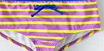 Johnnie  b Printed Boyshorts, Bright Lilac/Lemon Stripe
