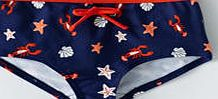 Johnnie  b Printed Boyshorts, Sailor Blue Shellfish 33804063