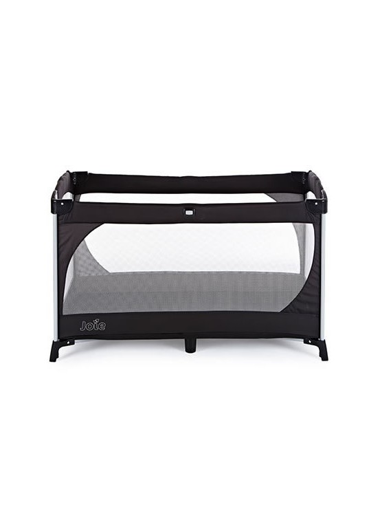 Allura Travel Cot with Bassinet-Black Ink