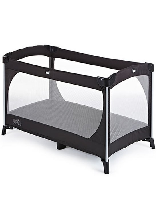 Allura Travel Cot with Bassinet-BLACK (New
