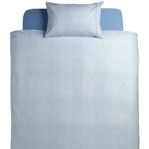 John Lewis Milano Duvet Cover- Chambray- Super Kingsize