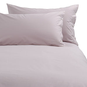 John Lewis Rock Cotton Duvet Cover- Mist- Single