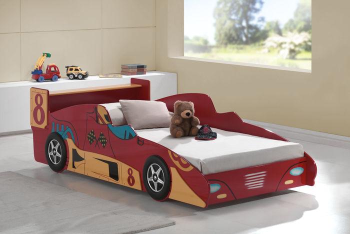 Red Car Toddler Bed