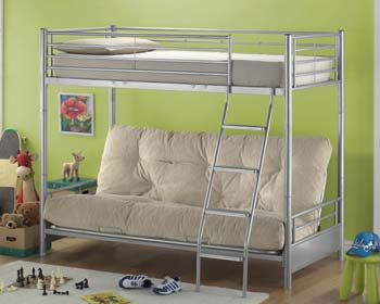 Joseph Julius Metal Futon Bunk Bed