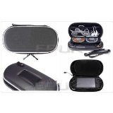 FPUK - BLACK CONSOLE GAME CARRY CASE HOLDER BAG FOR SONY PSP / UMD DISCS