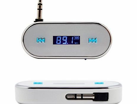 Universal FM Radio Music Transmitter for iPod 5th iPhone 5 4 4S HTC NOKIA LG SAMSUNG SONY