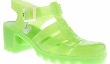womens juju jellies green babe sandals