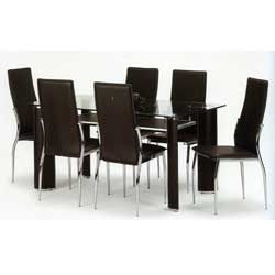 - Boston Dining Table and 4 Chairs
