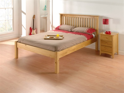 Barcelona Pine Single (3) Slatted Bedstead