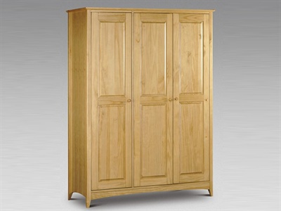 Kendal 3 Door wardrobe Small Single (2