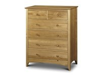 Kendal 4+2 Drawer Chest Flat Packed
