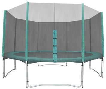 Jump For Fun 14ft Super Jump Trampoline with Safety Net