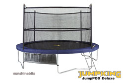 jumpking JumpPOD Deluxe Trampoline-14ft