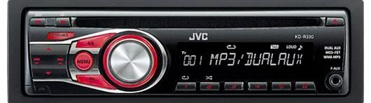 kdr330 50x4 Car CD Player with Dual Aux Inputs by JVC