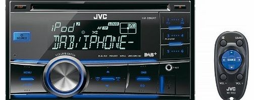 JVC KW-DB60AT Double Din Car Stereo with Built in DAB Tuner