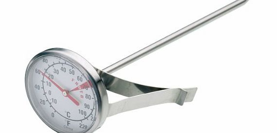 Kitchen Craft Stainless Steel Milk Frothing Thermometer - Code -KCMILKTH