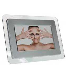 7 Inch Digital Photo Frame - Silver