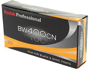 BW400 CN Black and White (C41) - 120 Roll (Single Roll)
