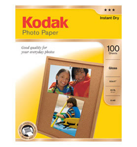 Photo Paper Inkjet Glossy 100 Sheets A4