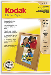 Photo Paper Inkjet Glossy 60 Sheets