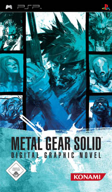 Metal Gear Solid Digital Graphic Novel PSP